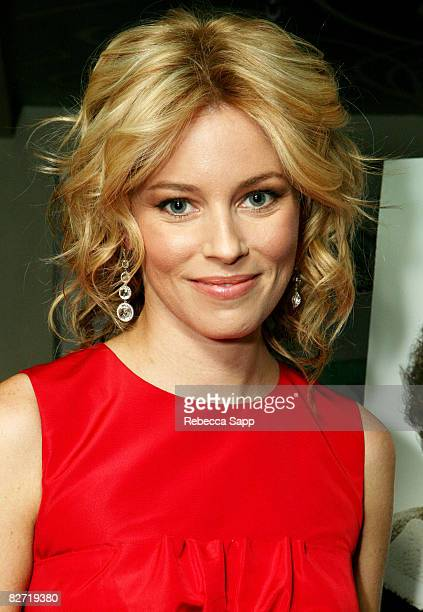 Actress Elizabeth Banks attends the dinner for Zack and Miri Make a Porno held at Trevor Kitchen and Bar during the 2008 Toronto International Film...