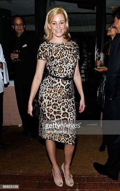 Actress Elizabeth Banks attends the Lionsgate Golden Globe Party at Polo Lounge at The Beverly Hills Hotel on January 16 2010 in Beverly Hills...