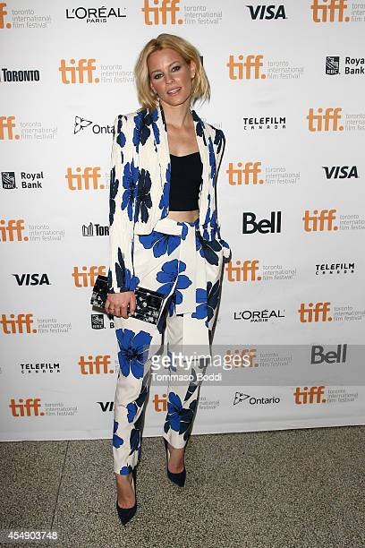 Actress Elizabeth Banks attends the Love Mercy premiere during the 2014 Toronto International Film Festival at The Elgin on September 7 2014 in...