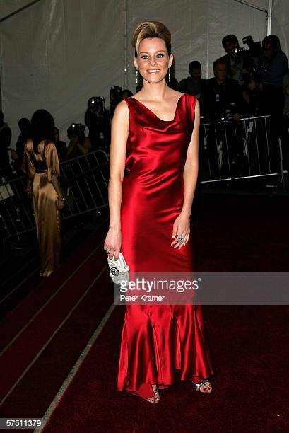 Actress Elizabeth Banks attends the Metropolitan Museum of Art Costume Institute Benefit Gala Anglomania at the Metropolitan Museum of Art May 1 2006...
