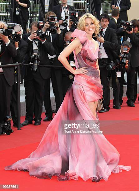 Actress Elizabeth Banks attends the premiere of 'Poetry' held at the Palais des Festivals during the 63rd Annual International Cannes Film Festival...
