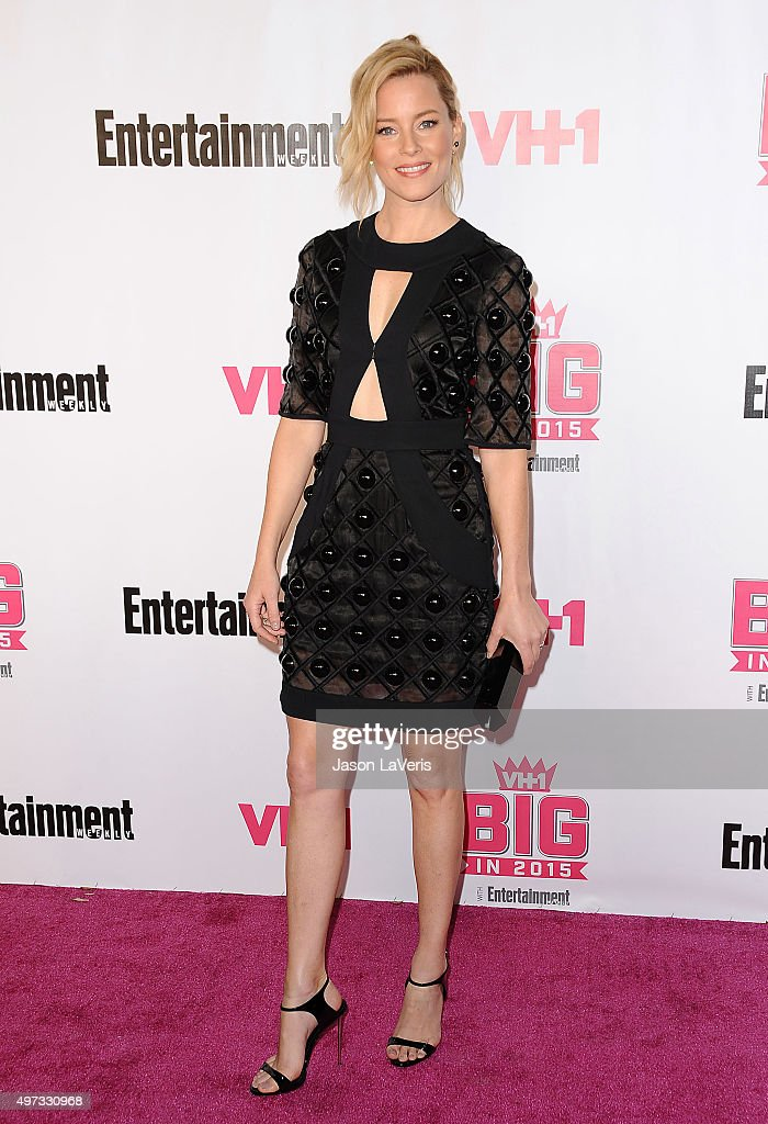 Actress Elizabeth Banks attends the VH1 Big In 2015 with Entertainment Weekly Awards at Pacific Design Center on November 15, 2015 in West Hollywood, California.