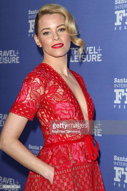 Actress Elizabeth Banks attends the Virtuosos Award at the Arlington Theater at the 31th Santa Barbara International Film Festival on February 6 2016...