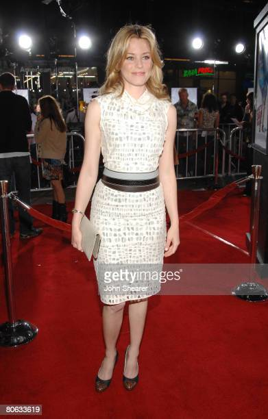 Actress Elizabeth Banks attends Universal Pictures' World Premiere of Forgetting Sarah Marshall on April 10 2008 at Grauman's Chinese Theater in...