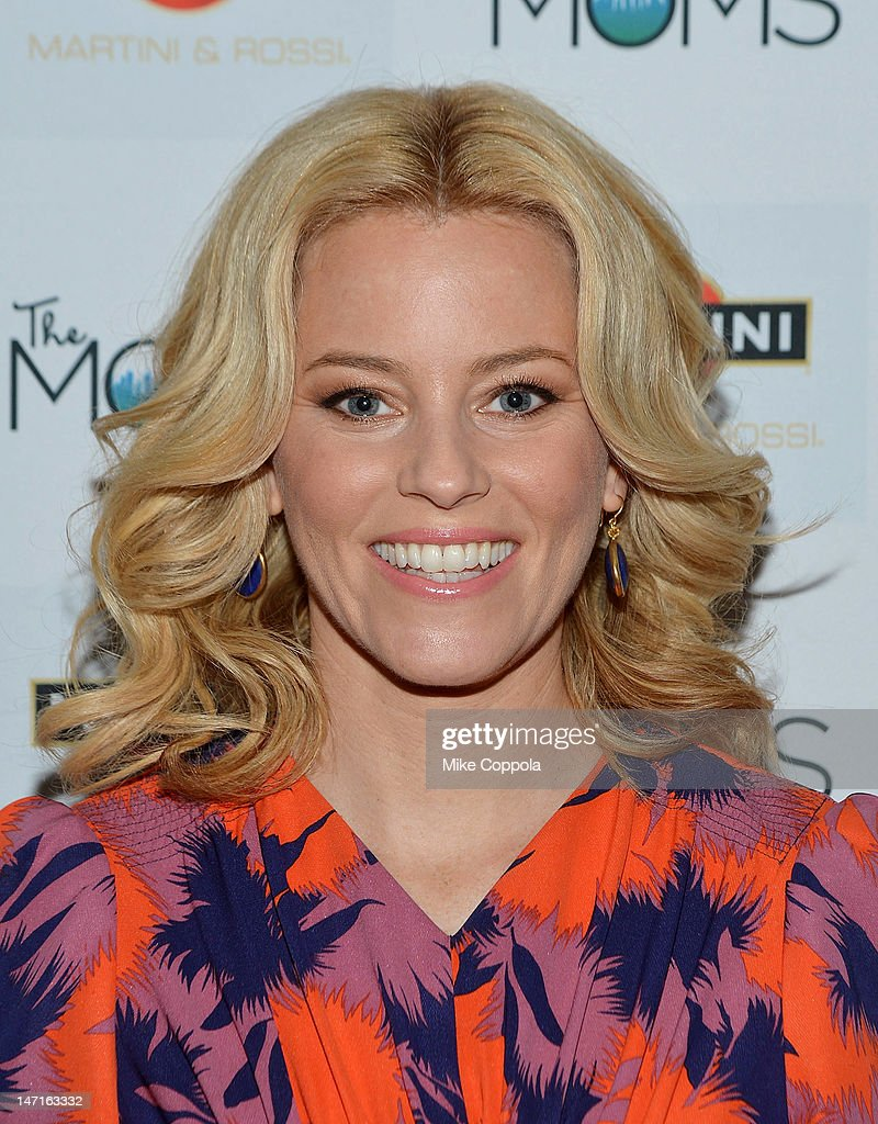 Actress Elizabeth Banks celebrates the release of 'People Like Us' with MARTINI and The Moms at Disney Screening Room on June 26, 2012 in New York City.
