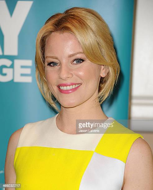 Actress Elizabeth Banks launches the 2nd annual Listerine 21Day Challenge at The Children's Dental Center of Greater Los Angeles on February 13 2014...