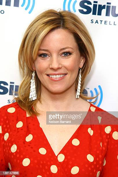 Actress Elizabeth Banks visits SiriusXM Studios on February 3 2012 in New York City