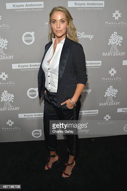 Actress Elizabeth Berkley attends the 2015 Baby2Baby Gala presented by MarulaOil Kayne Capital Advisors Foundation honoring Kerry Washington at 3LABS...