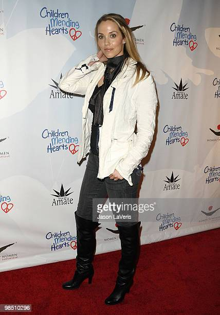 Actress Elizabeth Berkley attends the Children Mending Hearts 3rd annual Peace Please gala at The Music Box at the Fonda Hollywood on April 16 2010...