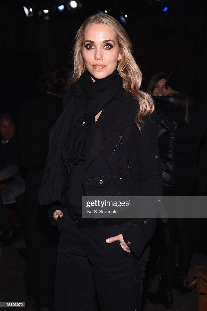 Greg Lauren - Front Row - Mercedes-Benz Fashion Week Fall 2015