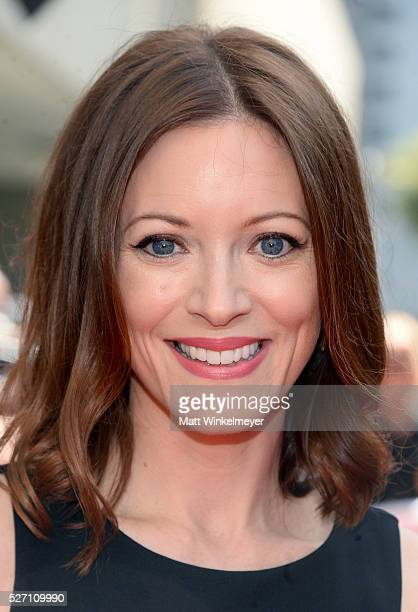 Actress Elizabeth Bogush arrives at the 43rd Annual Daytime Emmy Awards at the Westin Bonaventure Hotel on May 1 2016 in Los Angeles California