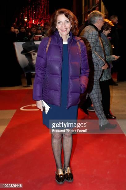"Actress Elizabeth Bourgine attends the ""Colette"" Paris Premiere at Cinema Gaumont Marignan on January 10, 2019 in Paris, France."