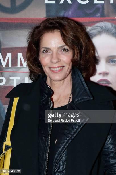 "Actress Elizabeth Bourgine attends the ""Une Femme d'Exception - On the Basis of Sex"" Paris Premiere at Cinema Gaumont Capucine on December 04, 2018..."