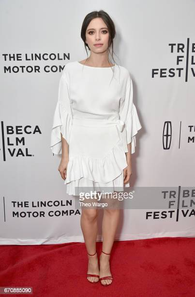 Actress Elizabeth Cappuccino attends the 'Super Dark Times' Premiere during 2017 Tribeca Film Festival at Cinepolis Chelsea on April 20 2017 in New...