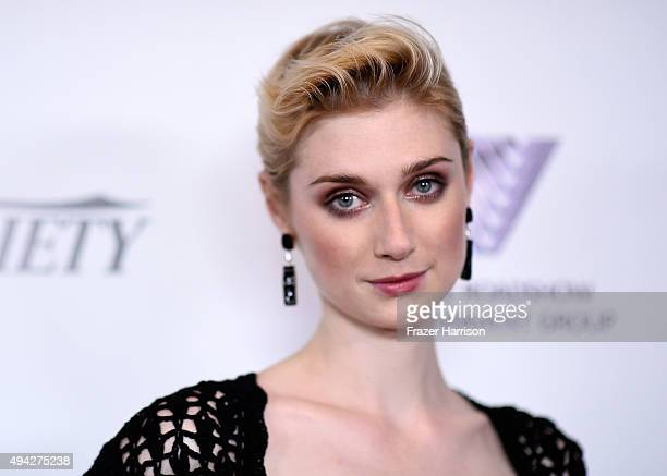 Actress Elizabeth Debicki arrives at the 4th Annual Australians In Film - Awards Benefit Dinner And Gala at InterContinental Hotel on October 25,...