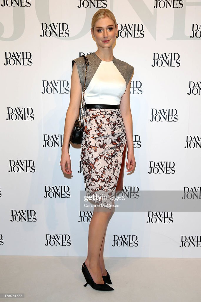 Actress Elizabeth Debicki arrives at the David Jones Spring/Summer 2013 Collection Launch at David Jones Elizabeth Street on July 31, 2013 in Sydney, Australia.