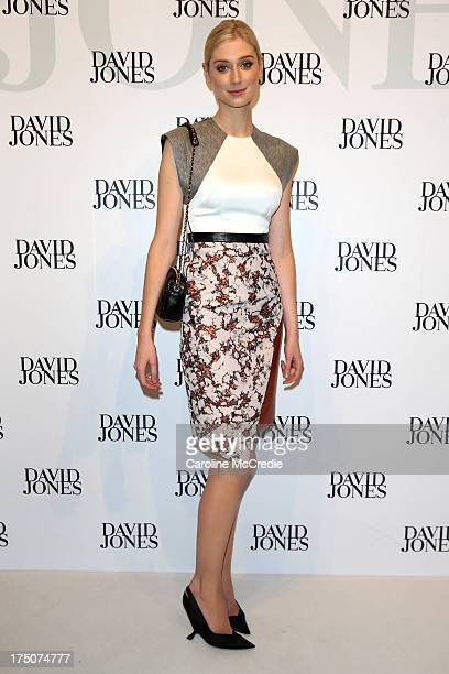 Actress Elizabeth Debicki arrives at the David Jones Spring/Summer 2013 Collection Launch at David Jones Elizabeth Street on July 31 2013 in Sydney...