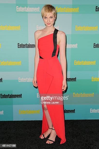 Actress Elizabeth Debicki arrives at the Entertainment Weekly celebration at Float at Hard Rock Hotel San Diego on July 11 2015 in San Diego...