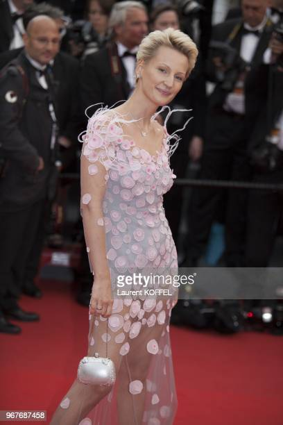 Actress Elizabeth Debicki attends Electrolux at Opening Night of The 66th Annual Cannes Film Festival at the Theatre Lumiere on May 15 2013 in Cannes...