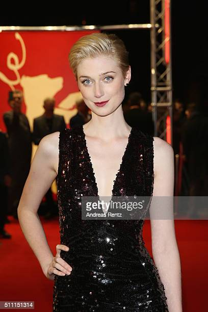 Actress Elizabeth Debicki attends the 'The Night Manager' premiere during the 66th Berlinale International Film Festival Berlin at Haus der Berlinale...