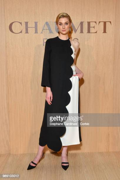 Actress Elizabeth Debicki attends the Tresors d'Afrique Unvelling Of Chaumet High Jewelry Party as part of Haute Couture Paris Fashion Week on July 1...