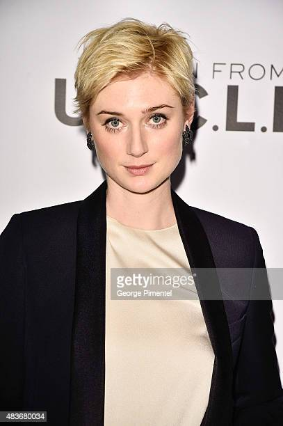 Actress Elizabeth Debicki attends Warner Bros Pictures Canada and Audi Canada host a private cocktail reception for the Canadian premiere of 'The Man...
