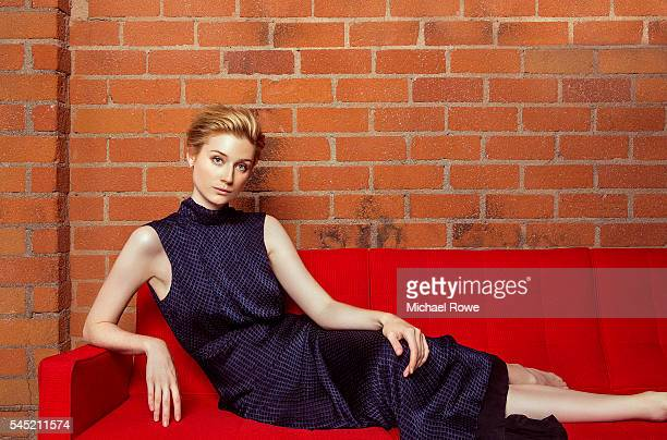 Actress Elizabeth Debicki is photographed for The Wrap on June 22 2016 in Los Angeles California