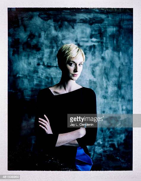 Actress Elizabeth Debicki of ' Man from UNCLE' is photographed on polaroid film at ComicCon International 2015 for Los Angeles Times on July 9 2015...