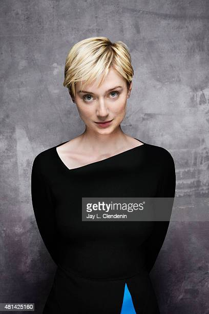 Actress Elizabeth Debicki of ' Man from UNCLE' poses for a portrait at ComicCon International 2015 for Los Angeles Times on July 9 2015 in San Diego...