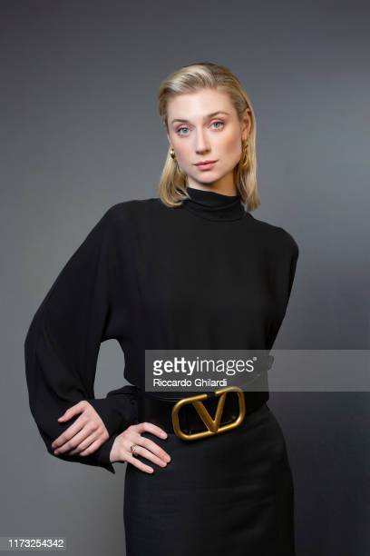 Actress Elizabeth Debicki poses for a portrait on September 7 2019 in Venice Italy