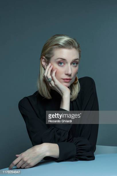 Actress Elizabeth Debicki poses for a portrait on September 7, 2019 in Venice, Italy.