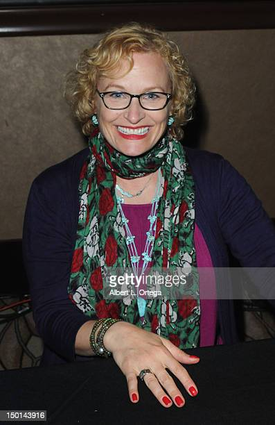 Actress Elizabeth Dennehy participates in the 11th Annual Official Star Trek Convention at the Rio Hotel Casino Day 2 on Friday August 10 2012 in Las...