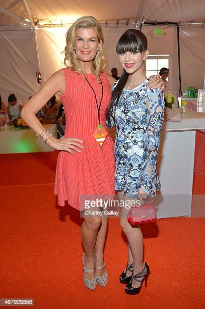 Actress Elizabeth Elias attends Nickelodeon's 28th Annual Kids' Choice Awards held at The Forum on March 28 2015 in Inglewood California