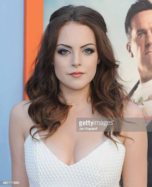 Actress Elizabeth Gillies arrives at the Los Angeles Premiere Vacation at Regency Village Theatre on July 27 2015 in Westwood California