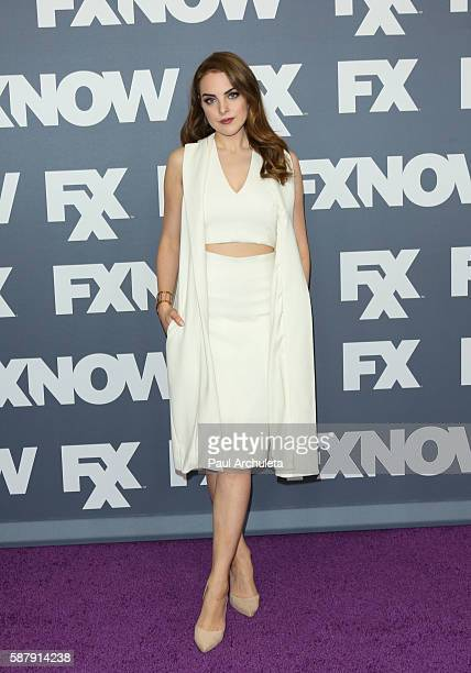 Actress Elizabeth Gillies attends FX Networks TCA 2016 Summer Press Tour on August 9 2016 in Beverly Hills California