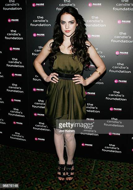 Actress Elizabeth Gillies attends The Candie's Foundation Event To Prevent at Cipriani 42nd Street on May 5, 2010 in New York City.