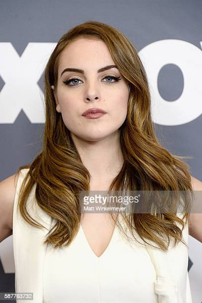 Actress Elizabeth Gillies attends the FX Networks TCA 2016 Summer Press Tour on August 9 2016 in Beverly Hills California