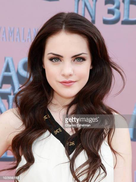 """Actress Elizabeth Gillies attends the premiere of """"The Last Airbender"""" at Alice Tully Hall on June 30, 2010 in New York City."""