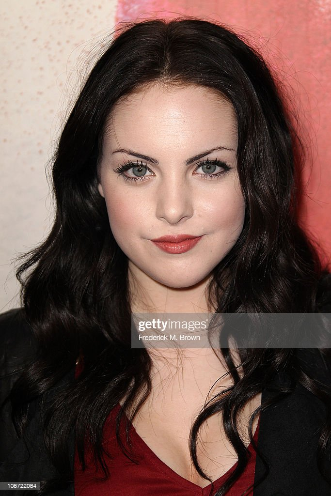 Actress Elizabeth Gillies attends the premiere of 'Waiting For Forever' at The Pacific Theatres at the Grove on February 1, 2011 in Los Angeles, California.