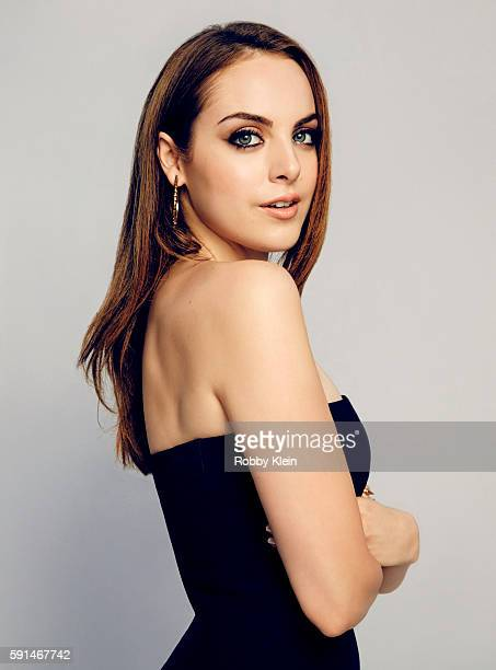 Actress Elizabeth Gillies from FX's 'SexDrugsRockRoll' poses for a portrait at the FOX Summer TCA Press Tour at Soho House on August 9 2016 in Los...