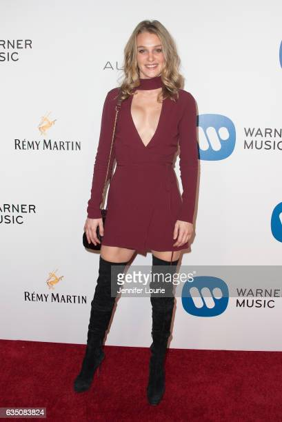 Actress Elizabeth Gilpin attends the Warner Music Group's Annual GRAMMY Celebration at Milk Studios on February 12 2017 in Hollywood California