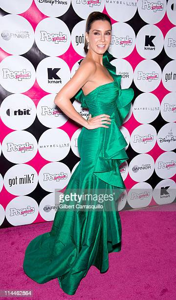 "Actress Elizabeth Gutierrez attends the 15th annual People en Espanol ""50 Most Beautiful"" Issue Celebration at Guastavino's on May 19, 2011 in New..."