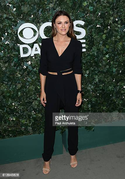 Actress Elizabeth Hendrickson attends the CBS Daytime For 30 Years celebration at The Paley Center for Media on October 10 2016 in Beverly Hills...