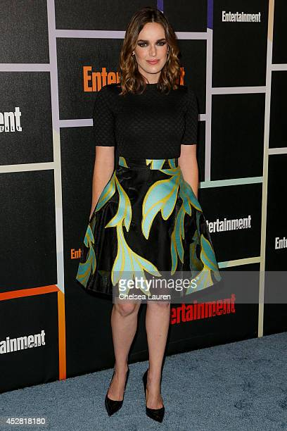 Actress Elizabeth Henstridge arrives at Entertainment Weekly's Annual Comic Con Celebration at Float at Hard Rock Hotel San Diego on July 26 2014 in...