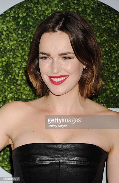 Actress Elizabeth Henstridge arrives at the 2014 GQ Men Of The Year Party at Chateau Marmont on December 4 2014 in Los Angeles California