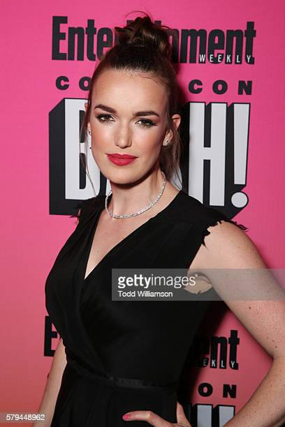 Actress Elizabeth Henstridge attends Entertainment Weekly's ComicCon Bash held at Float Hard Rock Hotel San Diego on July 23 2016 in San Diego...