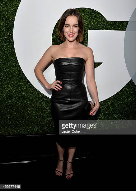 Actress Elizabeth Henstridge attends the 2014 GQ Men Of The Year party at Chateau Marmont on December 4 2014 in Los Angeles California
