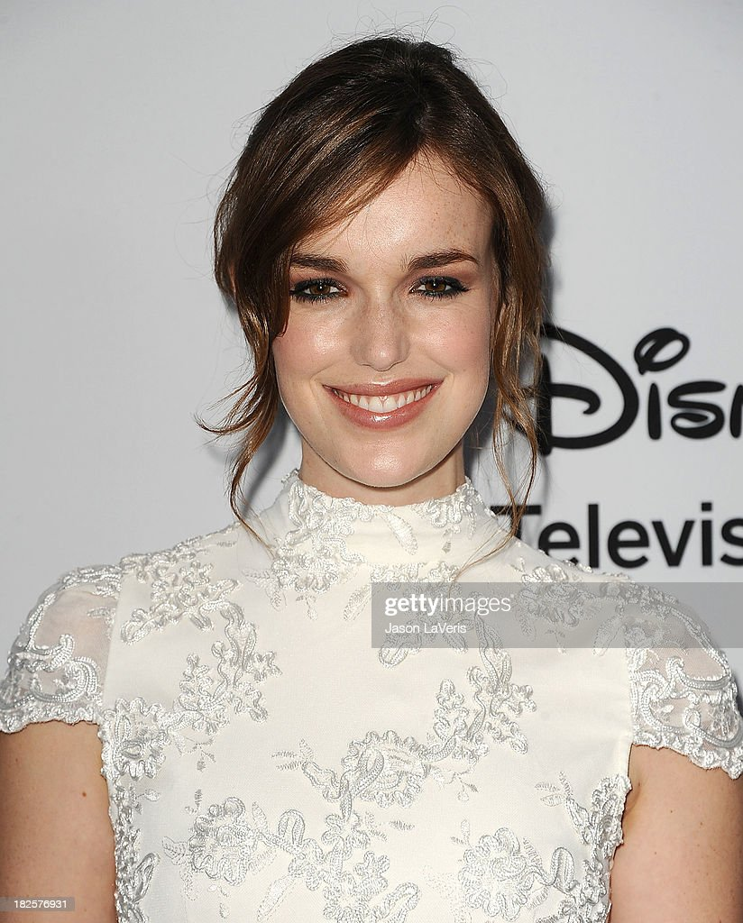 Actress Elizabeth Henstridge attends the Disney Media Networks International Upfronts at Walt Disney Studios on May 19, 2013 in Burbank, California.
