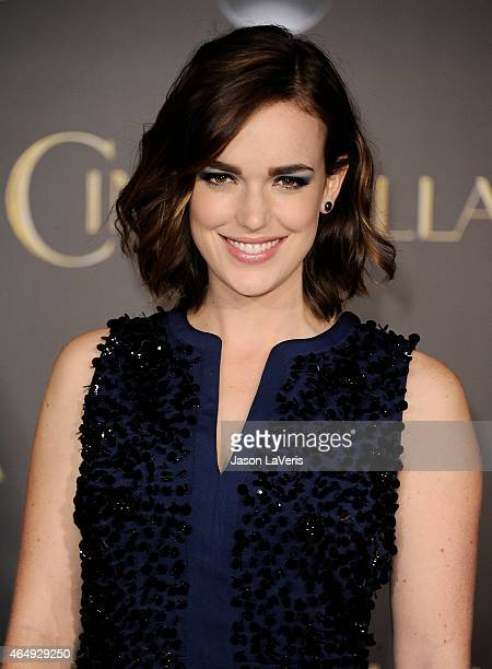 Actress Elizabeth Henstridge attends the premiere of 'Cinderella' at the El Capitan Theatre on March 1 2015 in Hollywood California