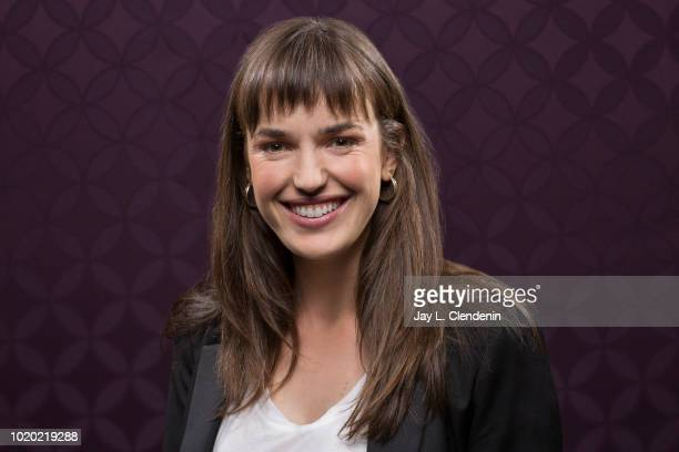 Actress Elizabeth Henstridge from 'Agents of SHIELD' is photographed for Los Angeles Times on July 21, 2018 in San Diego, California. PUBLISHED...
